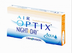 AIR OPTIX Night & Day AQUA (3 линзы )