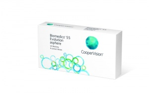 Biomedics 55 Evolution UV (6 линз  )